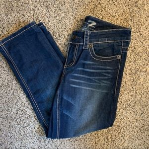 Seven7 Embellished Slim Straight Women's Jeans